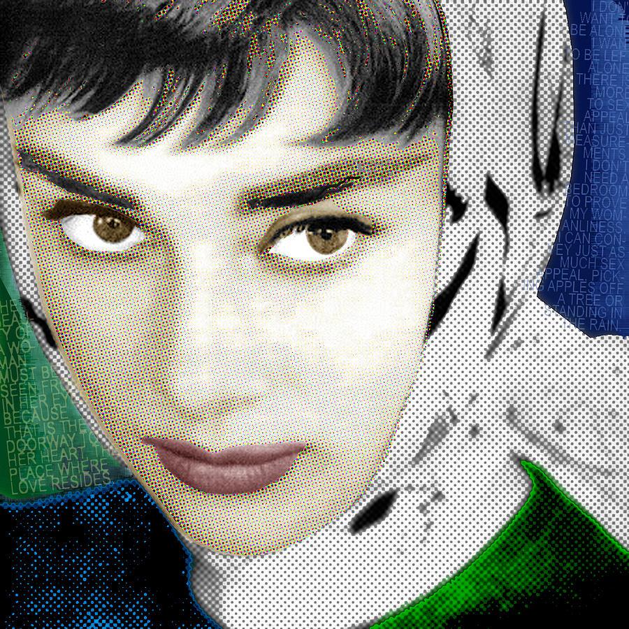 Audrey Hepburn Painting - Audrey Hepburn by Tony Rubino
