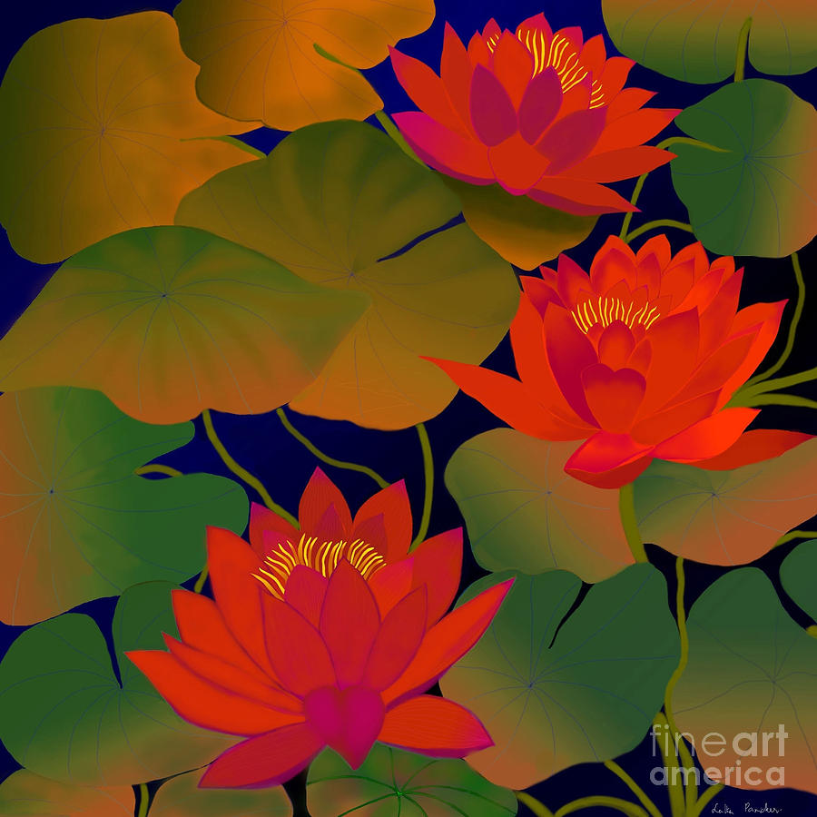 Aura Digital Painting Digital Art - Aura by Latha Gokuldas Panicker