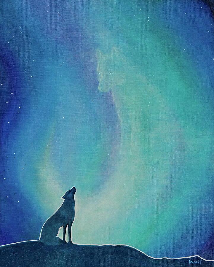 Aurorasong 1 Painting