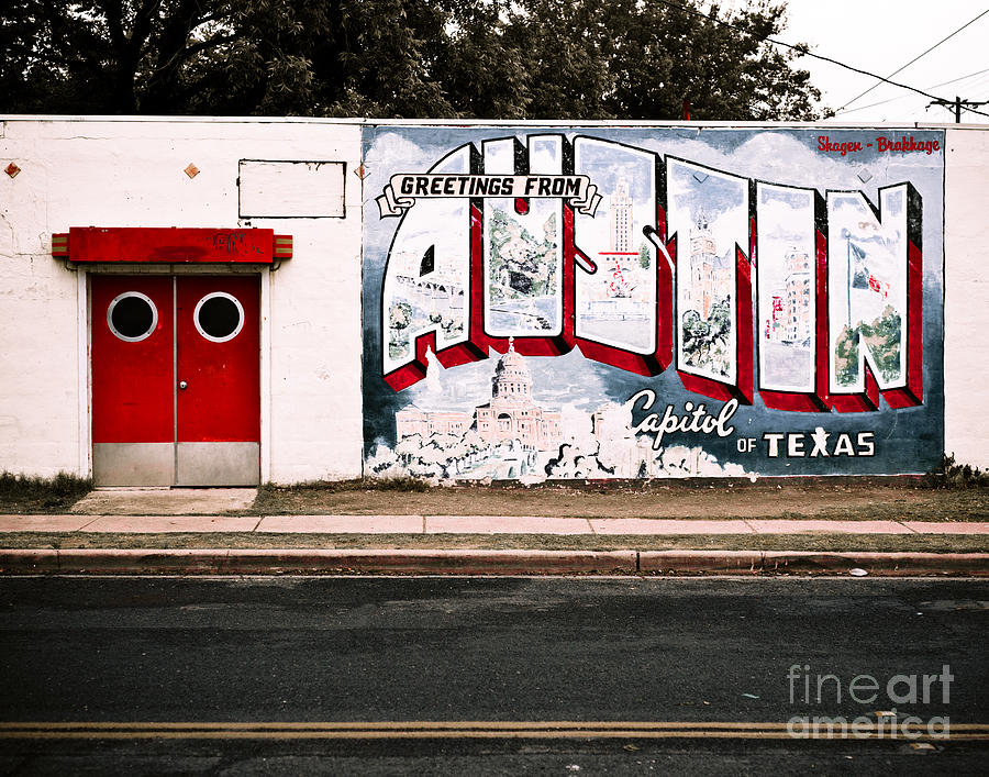 Austin Capital Photograph  - Austin Capital Fine Art Print