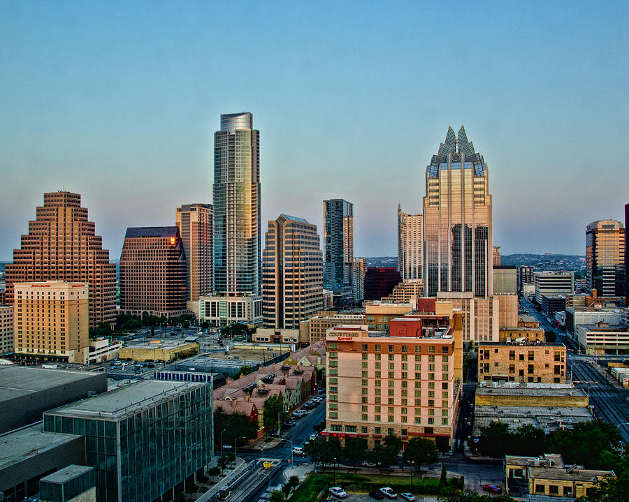Austin Skyline Photograph