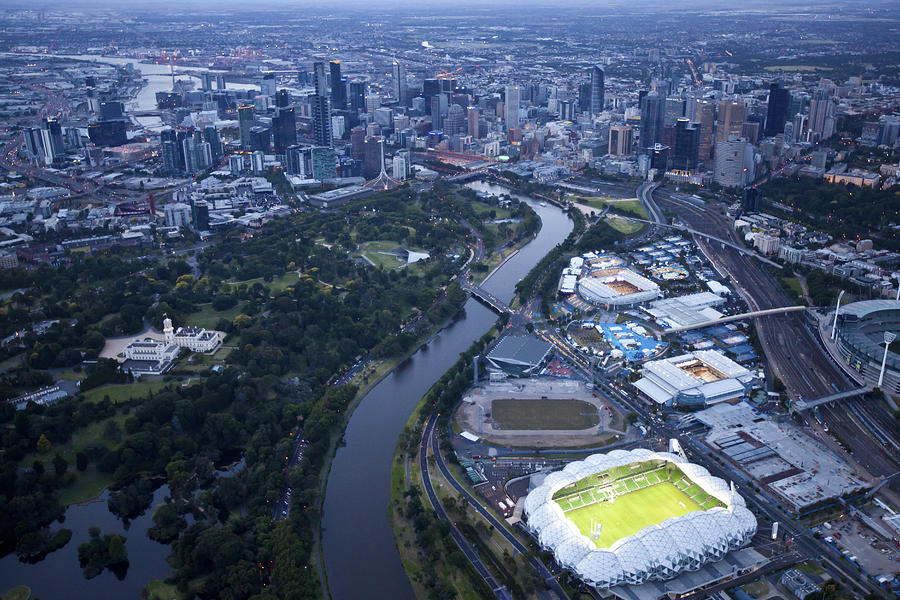 Australlian Open Tennis Venues Photograph