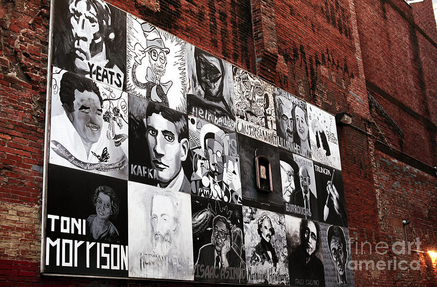 Pictures Photograph - Authors In Boston by John Rizzuto