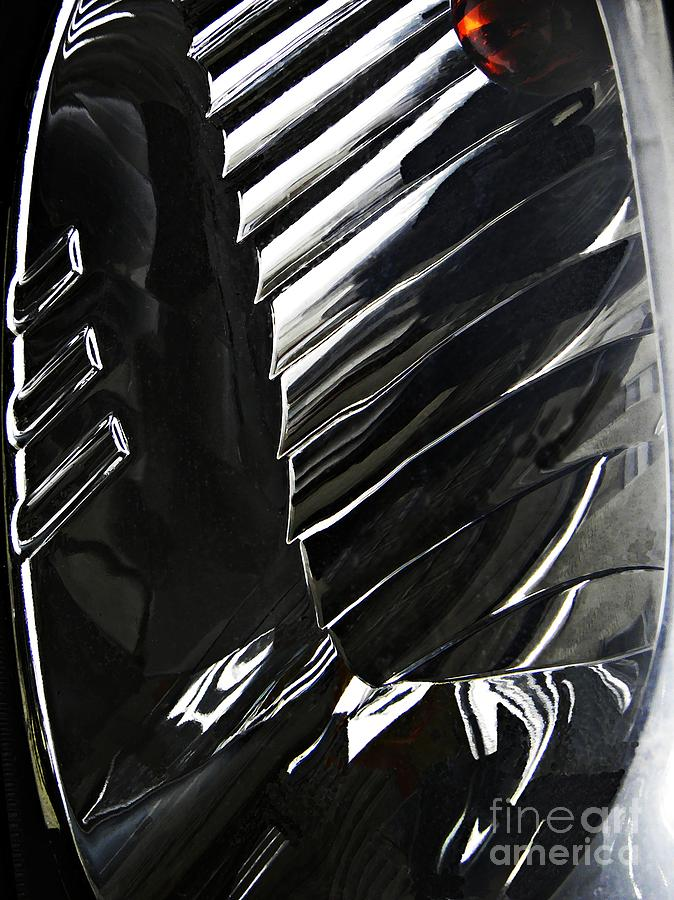 Auto Headlight 69 Photograph