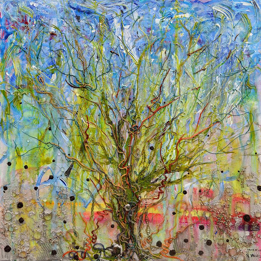 Autotroph Tree Of Life 1 Painting  - Autotroph Tree Of Life 1 Fine Art Print