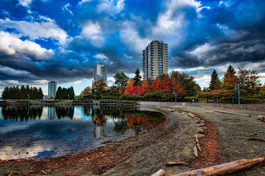 Autumn At The Lagoon Photograph