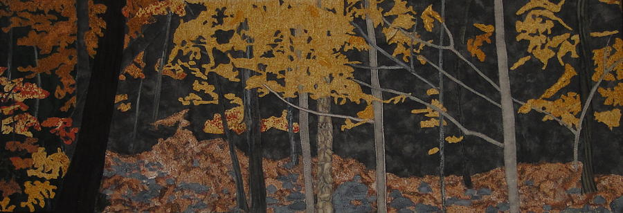 Nature Painting - Autumn Carpet by Anita Jacques