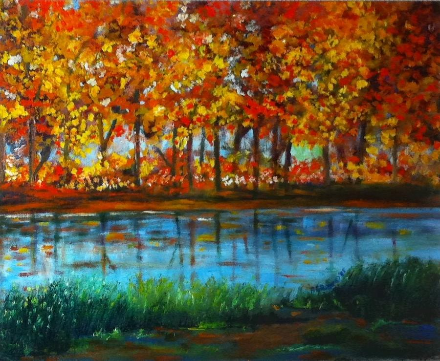 Fall Painting - Autumn Colors by B Russo