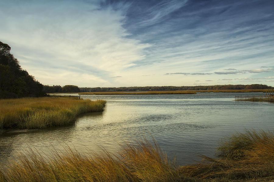 Autumn Creek Photograph