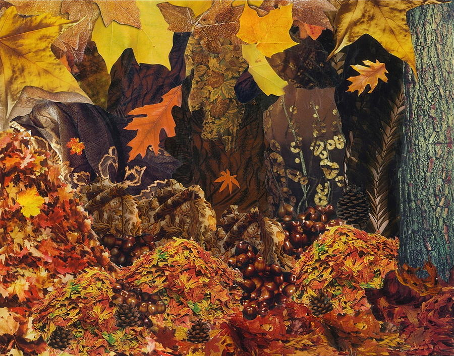 Autumn Mixed Media  - Autumn Fine Art Print