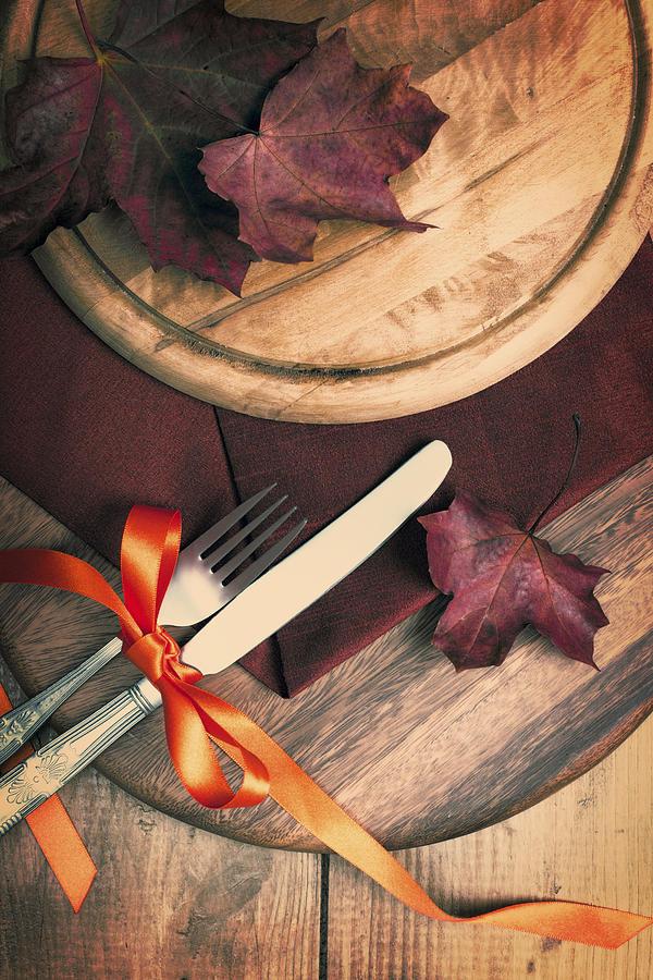 Autumn Dining Photograph