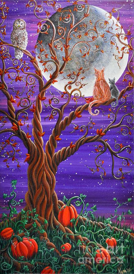 Autumn Evening Painting