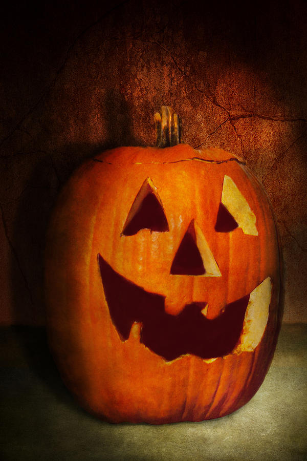 Autumn - Halloween - Jack-o-lantern  Photograph