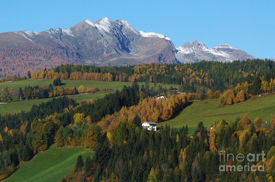 Autumn In Austria Photograph