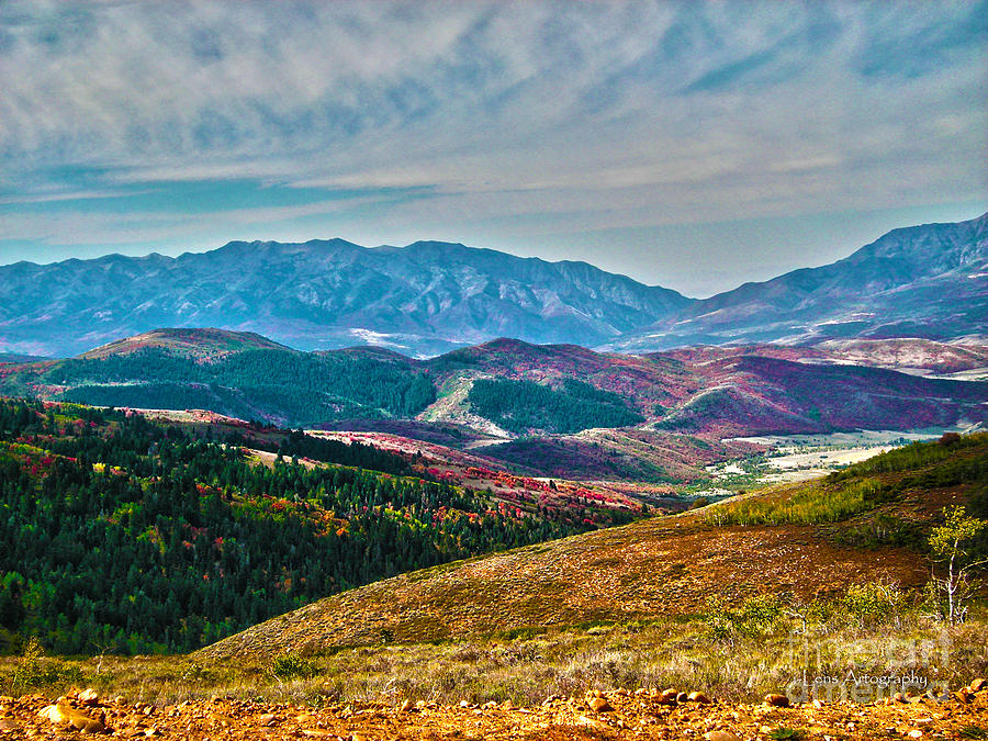 Autumn In Cache Valley Photograph  - Autumn In Cache Valley Fine Art Print