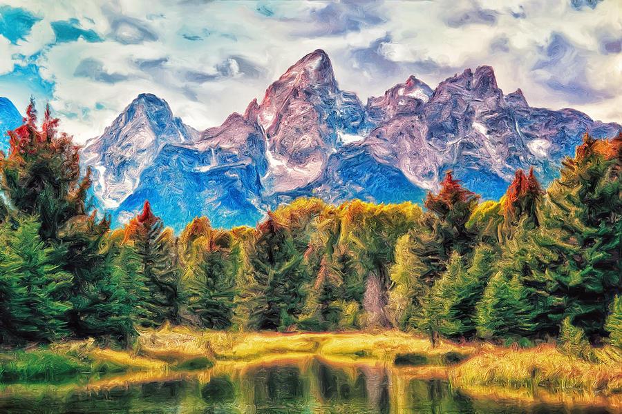 Autumn In The T... Framed Art