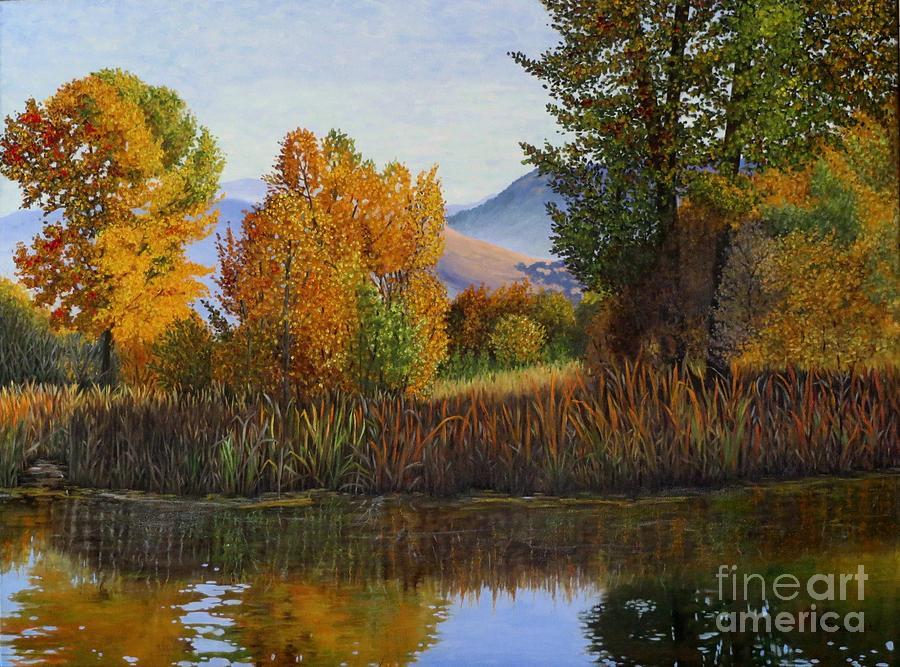 Autumn Light Painting