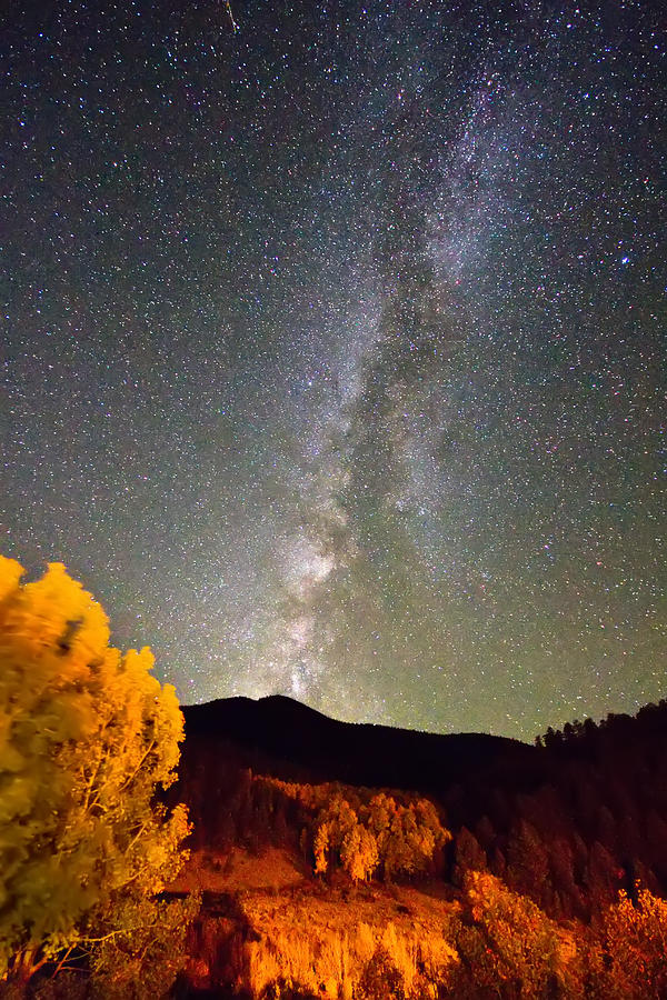 Autumn Milky Way Night Sky  Photograph