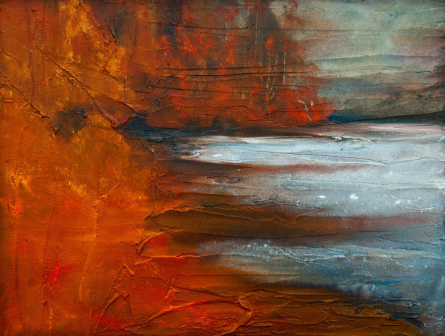 Autumn On The Sound Painting