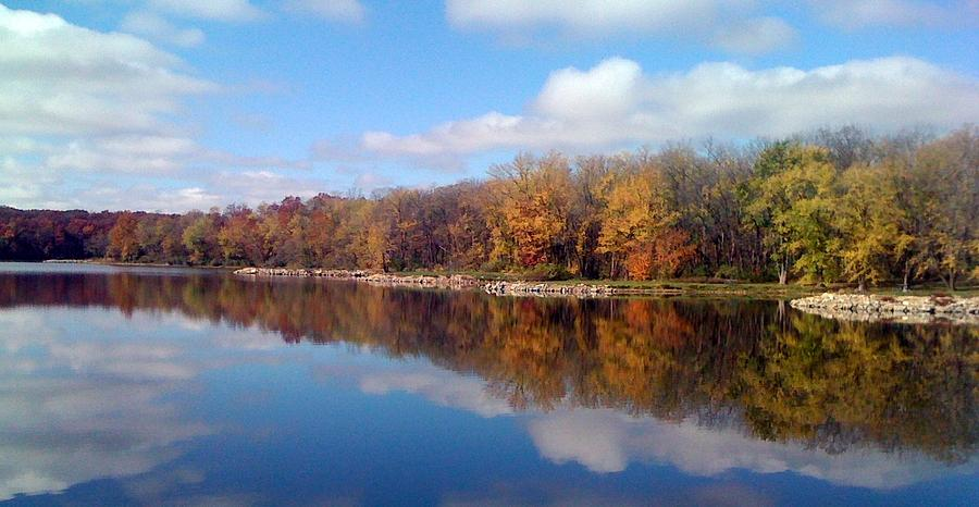 Autumn Photograph - Autumn Reflections by Jerry Browning