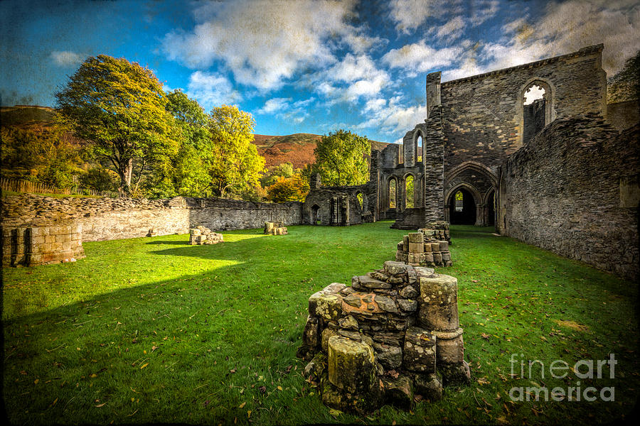 Autumn Ruins Photograph