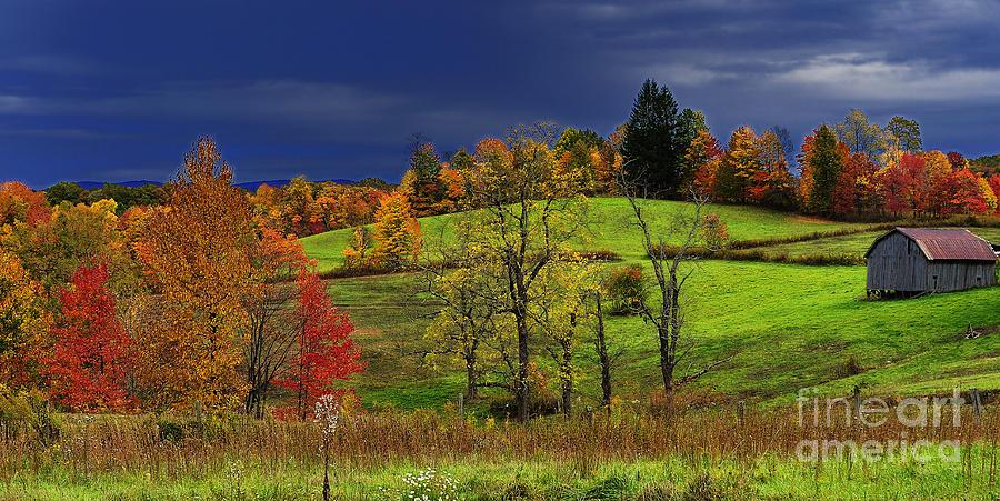 Autumn Storm Photograph