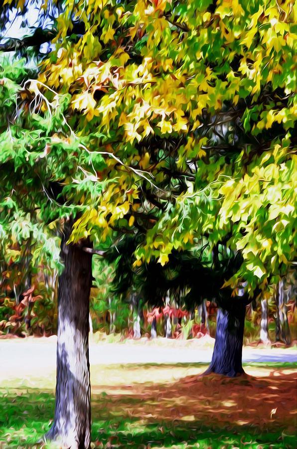 Autumn Trees 7 Painting