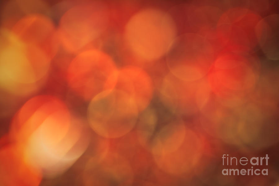 Abstract Photograph - Autumnal Amber by Jan Bickerton