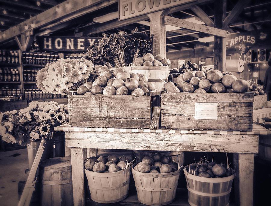 Farm Stand Photograph - Avila by Caitlyn  Grasso