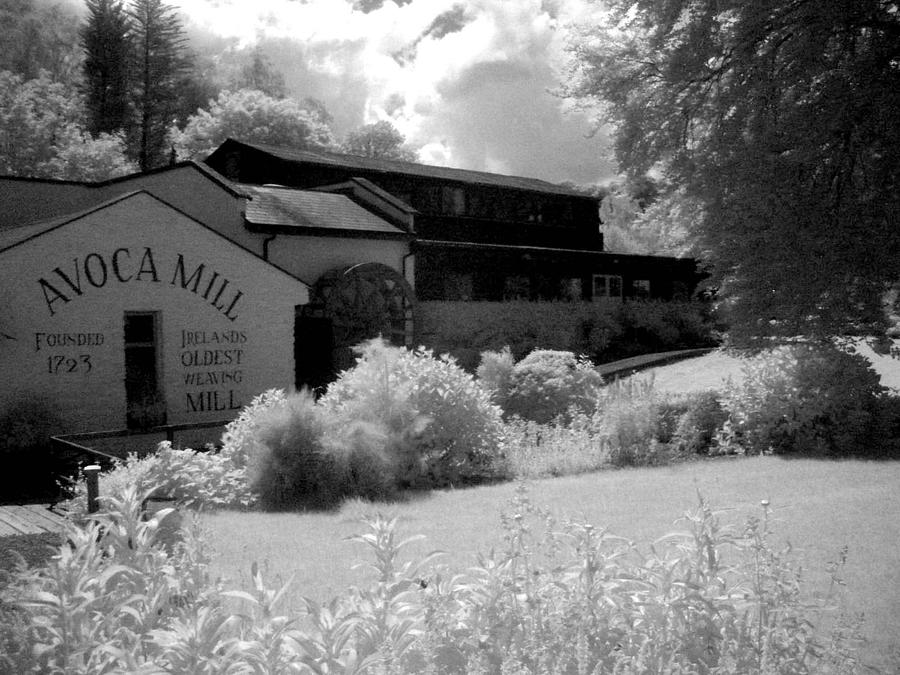 Landscape Photograph - Avoca Mill Infrared by Paulette Mortimer