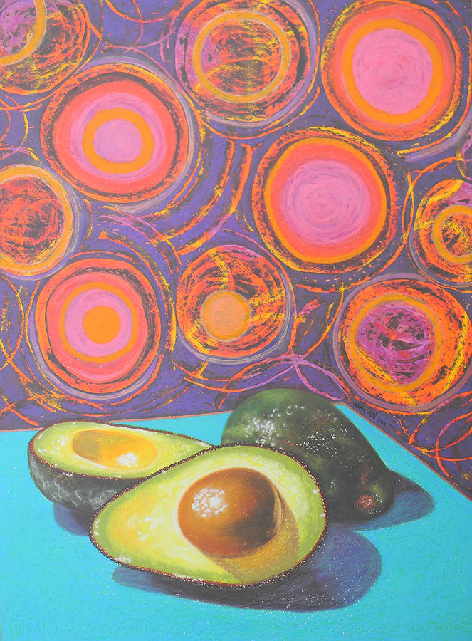 Avocado Delight Painting  - Avocado Delight Fine Art Print
