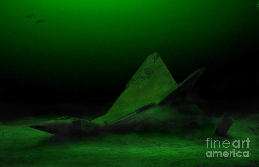 Avro Arrow Photograph - Avro Arrow In Lake Ontario by Tom Straub