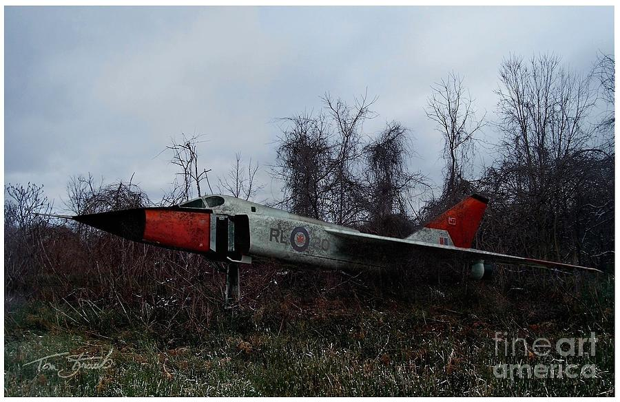 Avro Arrow In The Cove Photograph