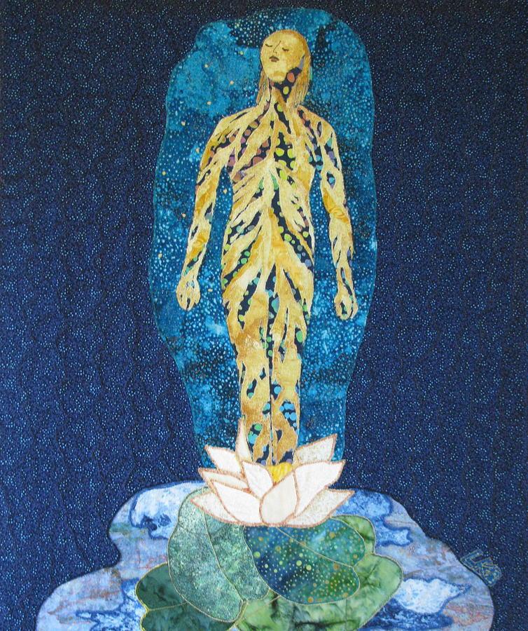 Art Quilts Tapestries Textiles Tapestry - Textile - Awakening by Lynda K Boardman