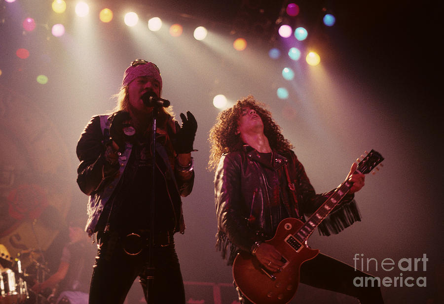 Axl Rose And Slash Photograph