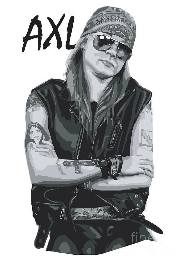 Axl Rose Digital Art