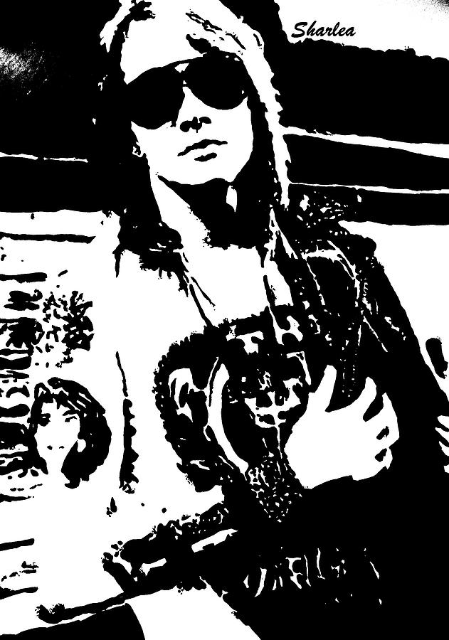 Axl Rose Painting