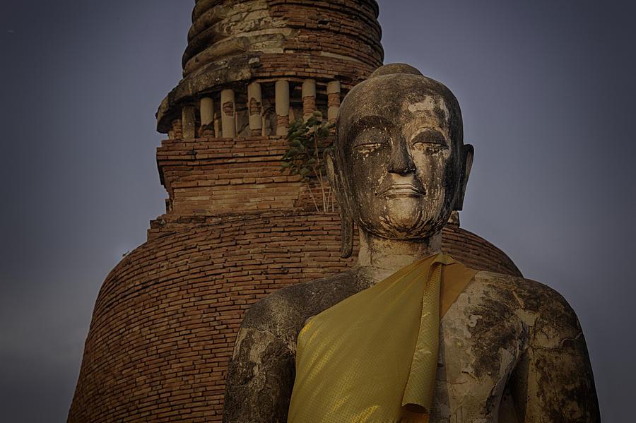 Spirituality Photograph - Ayuthaya Close Up by David Longstreath