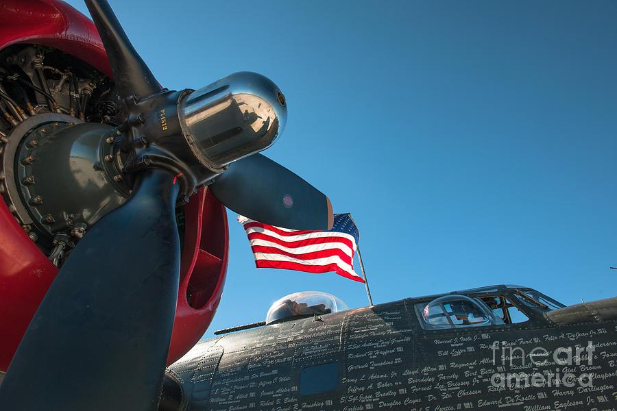 B-24j Liberator Aircraft Photograph
