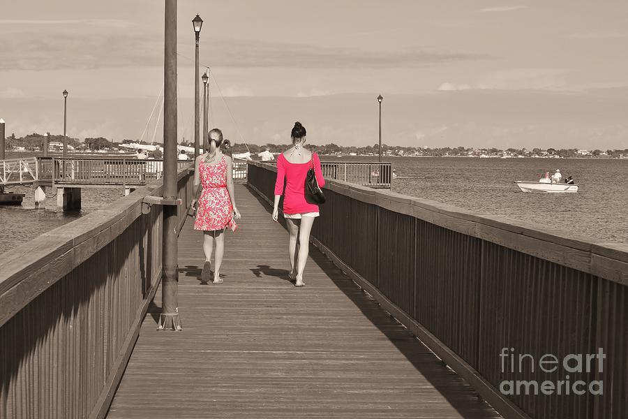 Friends Photograph - B F Fs by Lynda Dawson-Youngclaus