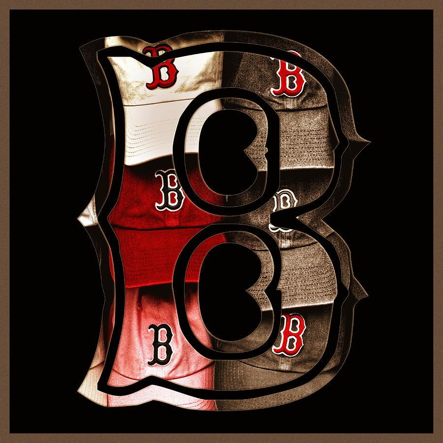 B For Bosox - Vintage Boston Poster Photograph