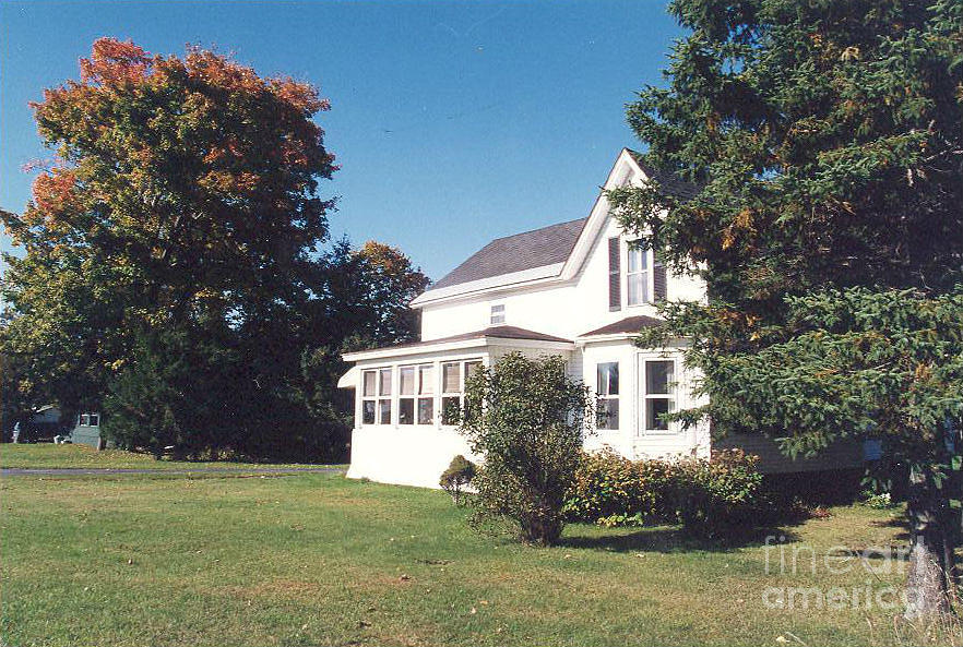 Baba And Gigis House Early Autumn Photograph