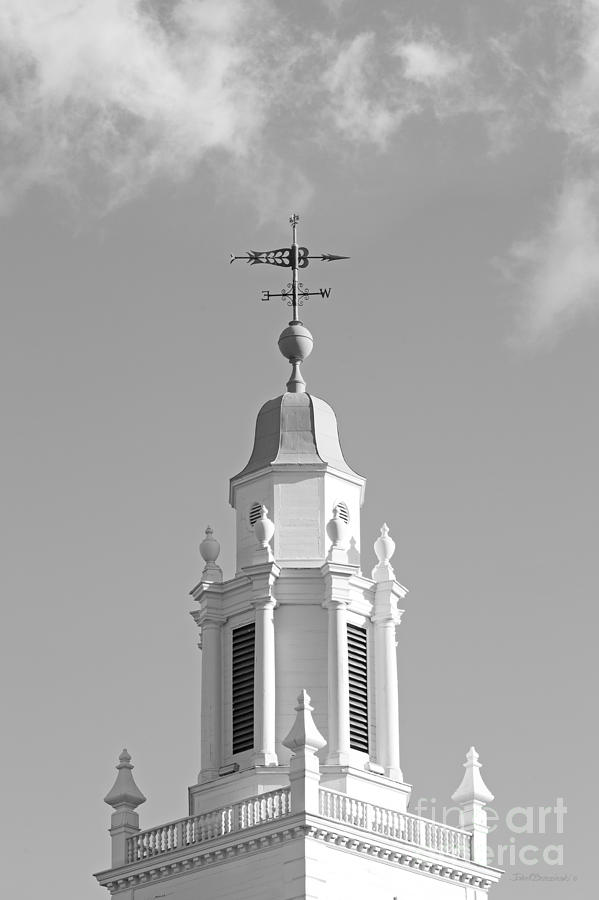 Babson College Tomasso Hall Cupola Photograph