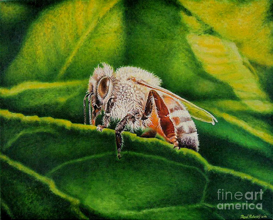 Baby Bee Painting