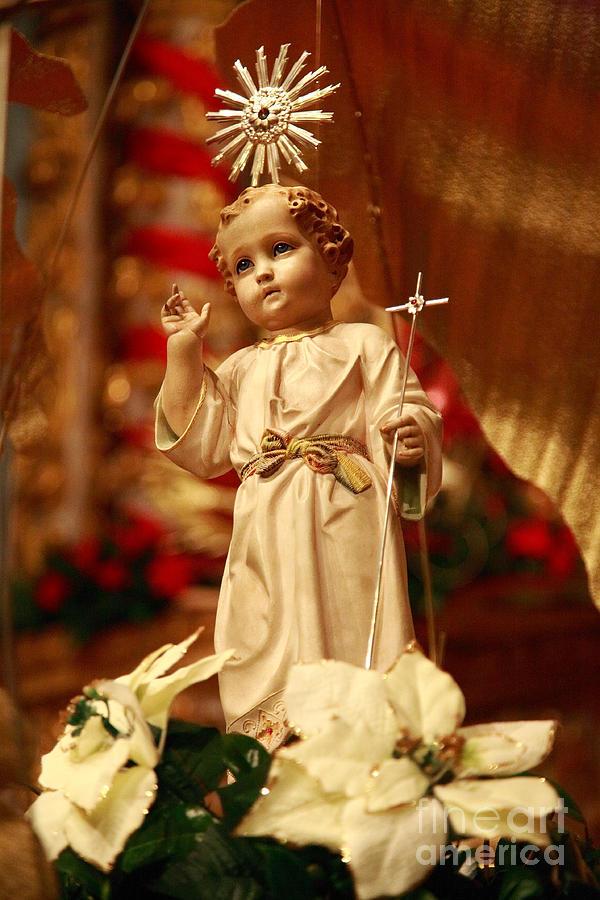 God Photograph - Baby Jesus by Gaspar Avila