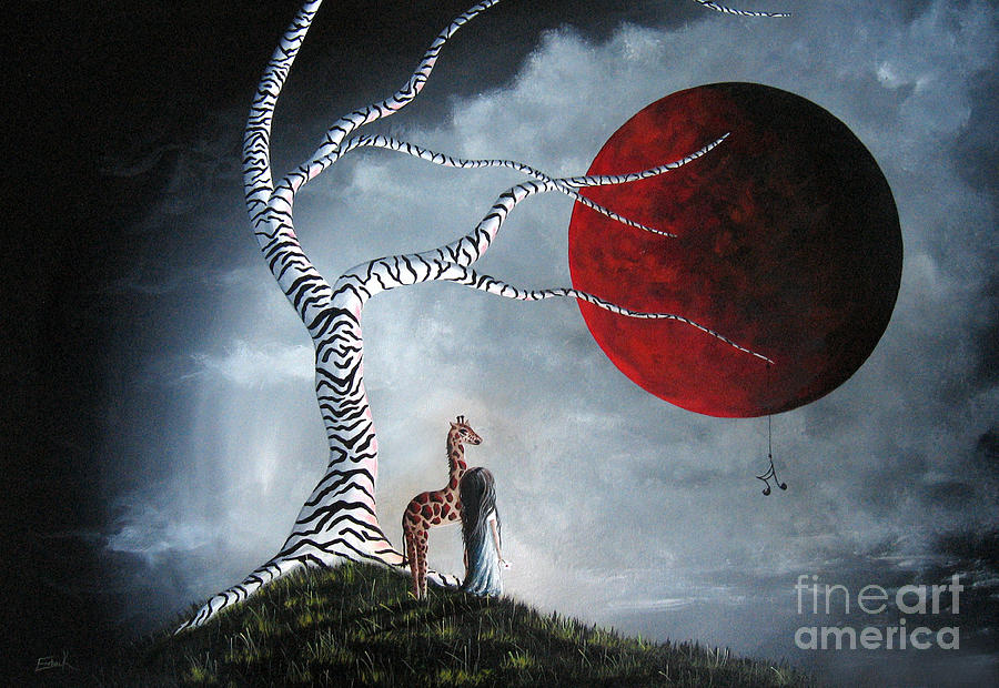 Baby Let Me In Your World By Shawna Erback Painting