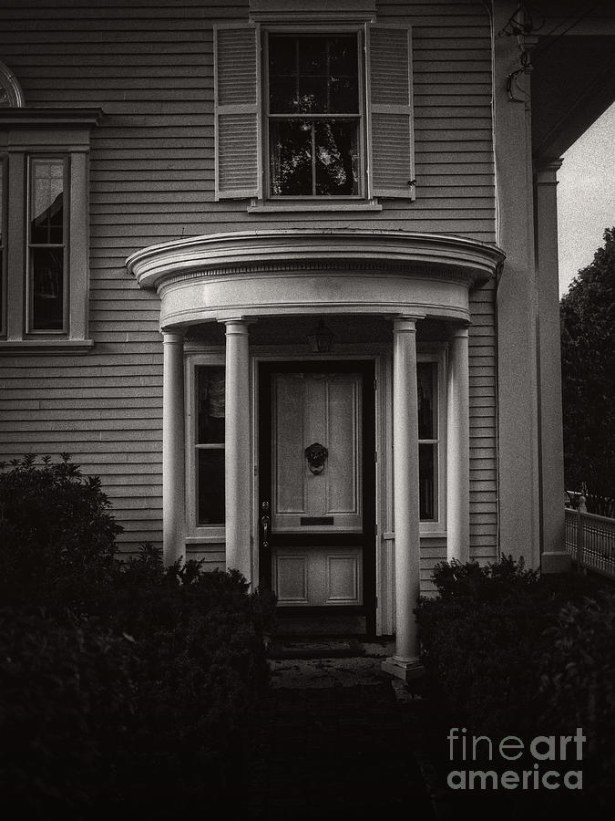 Copy Photograph - Back Home Bar Harbor Maine by Edward Fielding