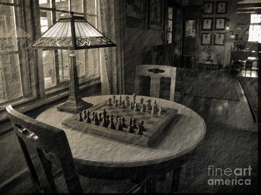 Chess Photograph - Back In Time by Arlene Carmel