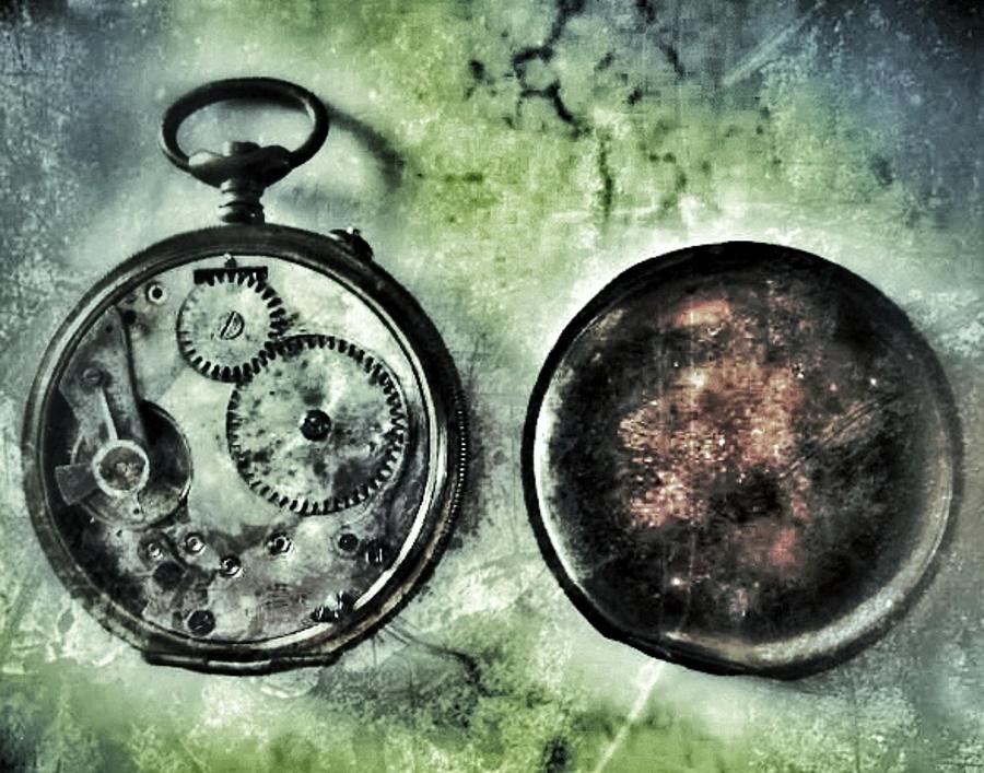 Pocket Watch Photograph - Back In Time by Marianna Mills