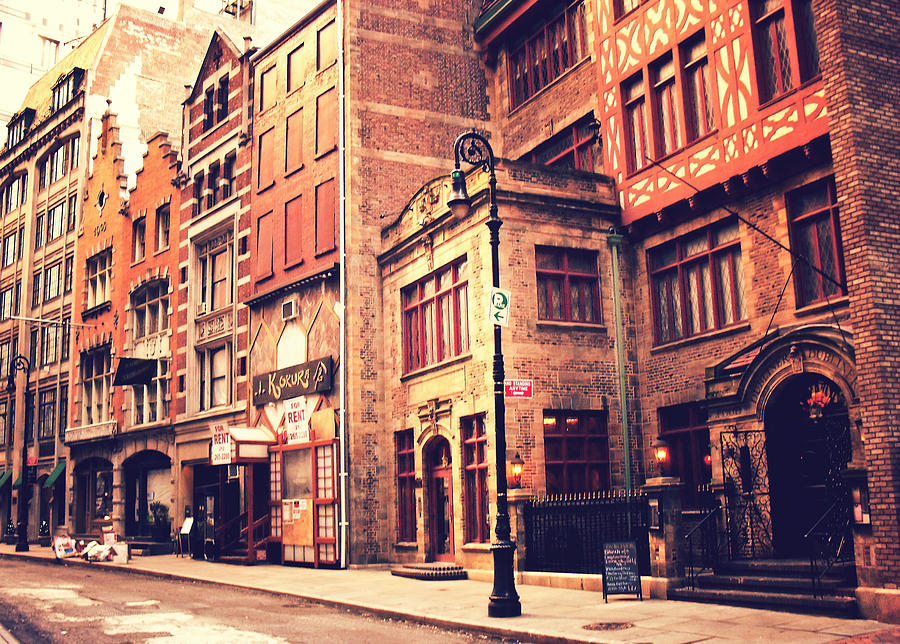 Back In Time - Stone Street Historic District - New York City Photograph  - Back In Time - Stone Street Historic District - New York City Fine Art Print